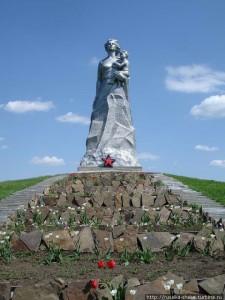 20 - Памятник женщина-мать, Ростовская область