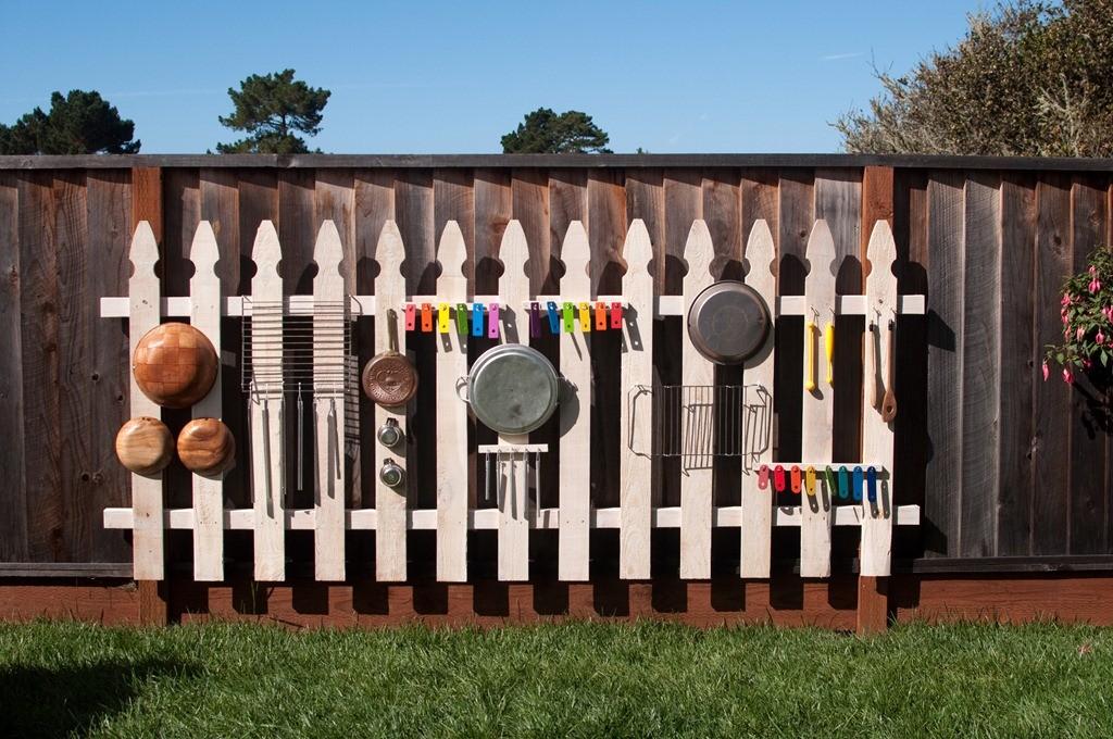 Забор детской площадки своими руками 34
