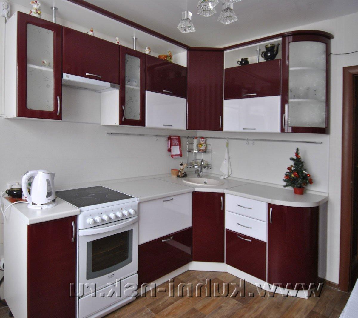 Дизайн кухни угловой 8 кв.м фото с