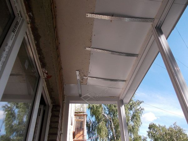 Сделать своими руками балконную раму