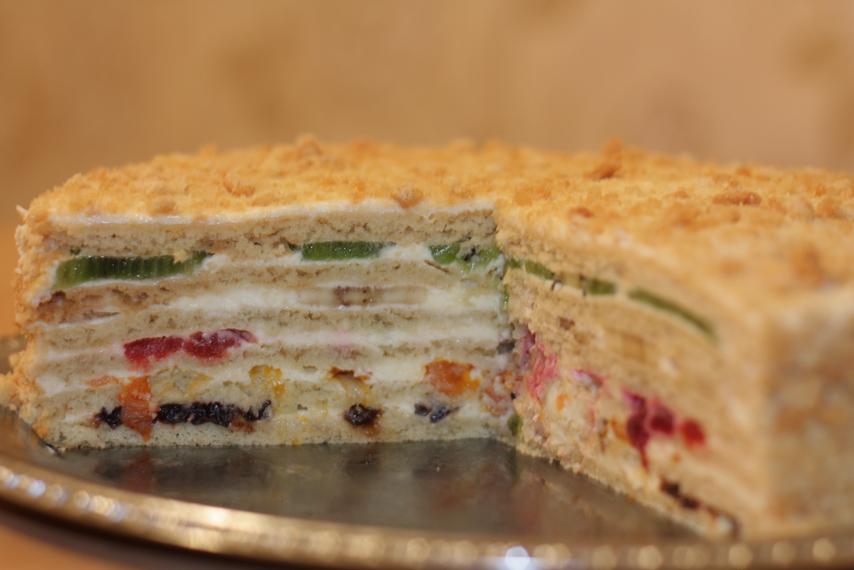 Торт без начинки рецепты