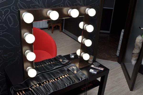 Как своими руками сделать зеркало для макияжа 60