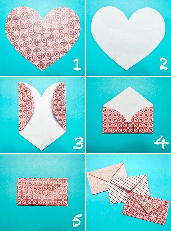 Сделать конверт из картона своими руками
