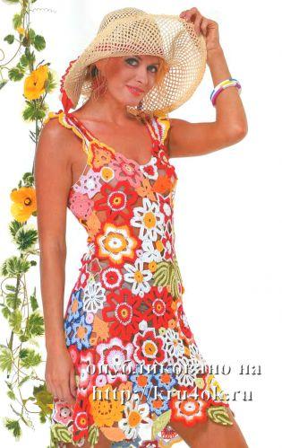 нарядная летняя вечерняя одежда