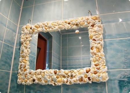 Зеркало с декором своими руками