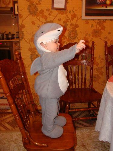 Костюм своими руками акула 202