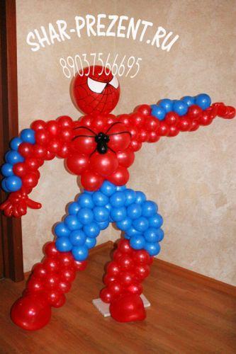 Фигура из воздушных шариков своими руками