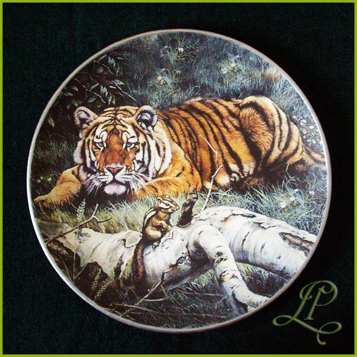 картинка декупаж тигр мозаичный храм