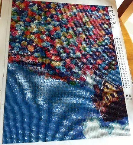 Мозаика как вышивка