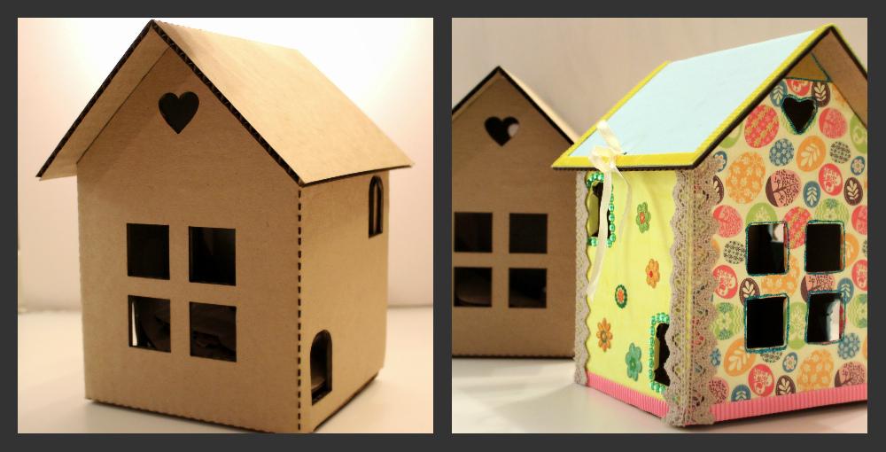 Как можно своими руками сделать домик для кукол 531