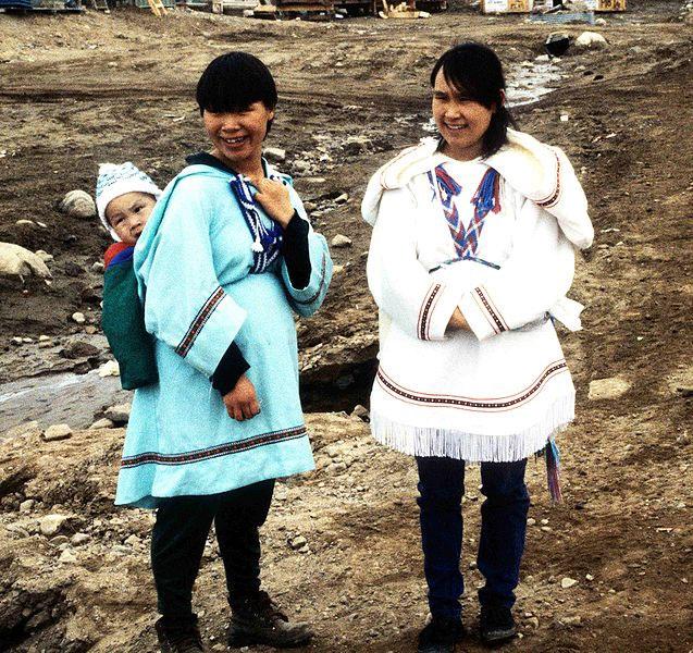 Eskimo lady adult fancy dress costume