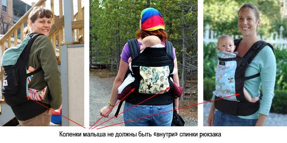 Слингорюкзак с какого возраста гимнастический рюкзак