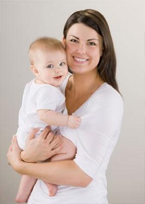 с ребенком на руках фото
