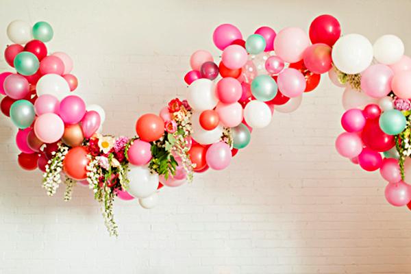 Как сделать гирлянду из воздушных шаров своими 13